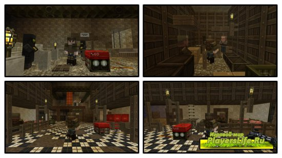 ����� Metro Post-Apocalypse (�� �����������) ��� Minecraft
