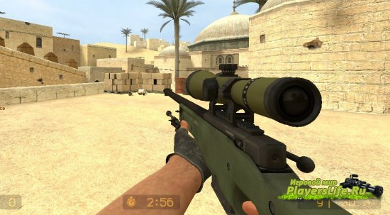 AWP CS:GO ��������� ��� Counter-Strike: Source