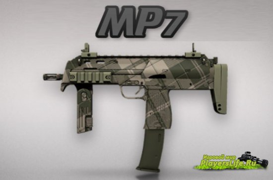 MP7 CS:GO ��������� ��� Counter-Strike: Source