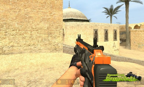 MP7 CS:GO Коллекция для Counter-Strike: Source