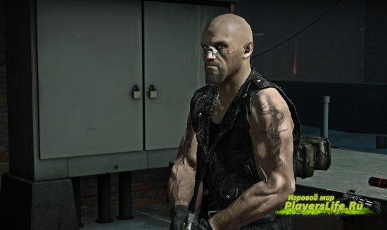 Накаченное тело Френсиса с татуировкой для Left 4 Dead 2