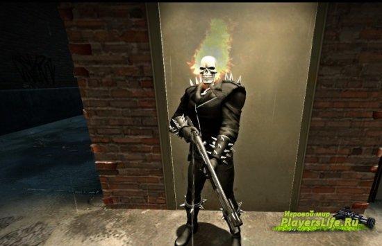 Призрачный гонщик для Фрэнсиса (Left 4 Dead 2)