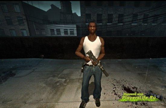CJ из GTA: San Andreas для Left 4 Dead 2