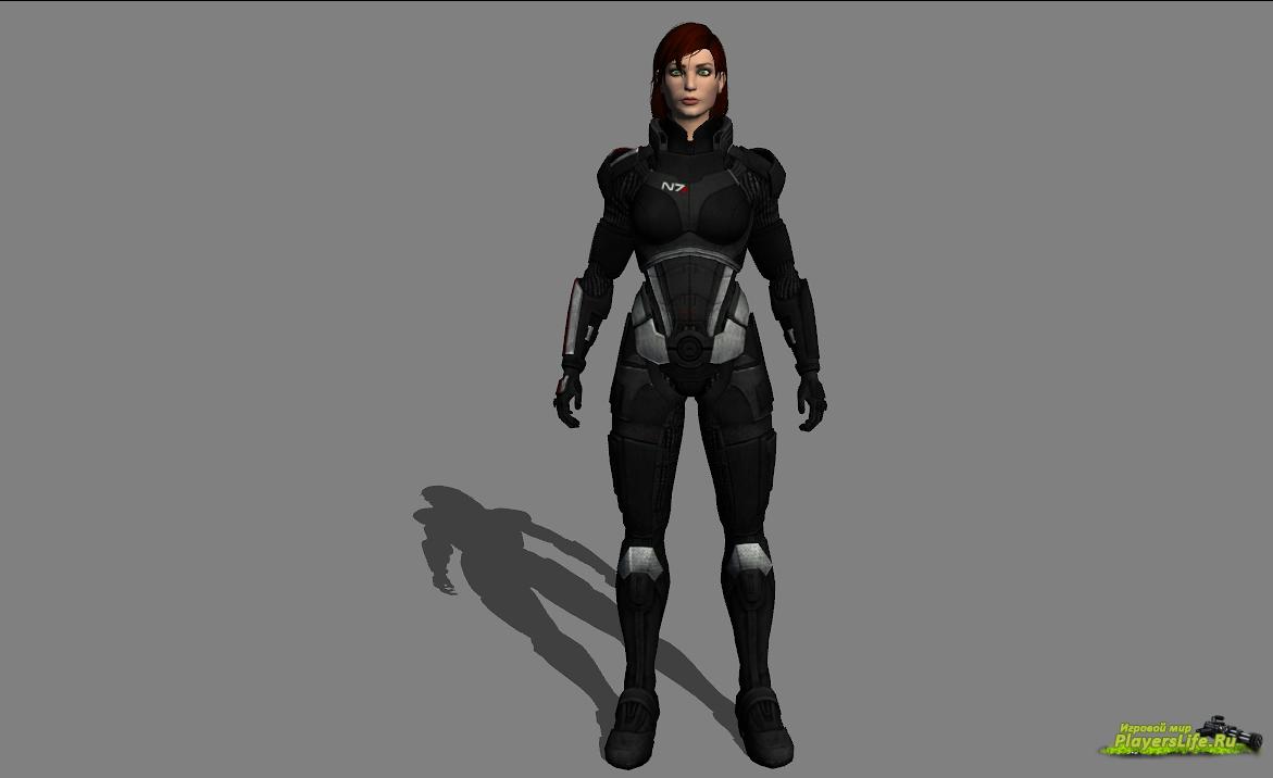 Командир Шепард (женская версия) для Left 4 Dead 2: http://www.playerslife.ru/3475-komandir-shepard-zhenskaya-versiya-dlya-left-4-dead-2.html