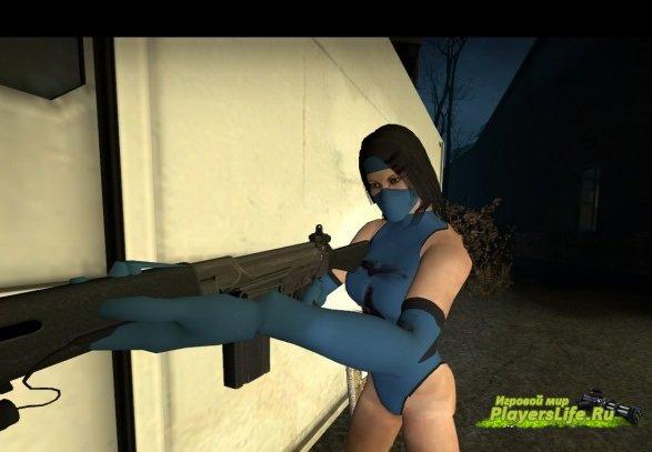 Китана из Mortal Combat для Left 4 Dead 2