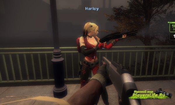 Харли Квинн для Left 4 Dead 2