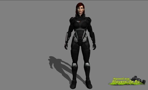 Командир Шепард (женская версия) для Left 4 Dead 2