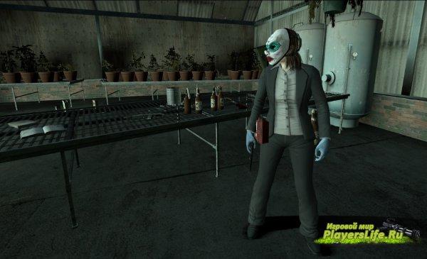 Персонаж девушки-грабительницы банков (Кловер) Для Left 4 Dead 2