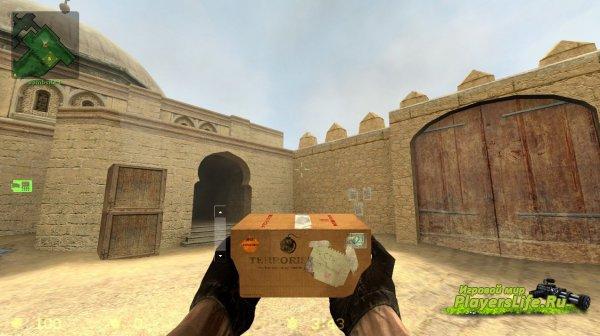 Коробка с надписью бомба для Counter-Strike: Source