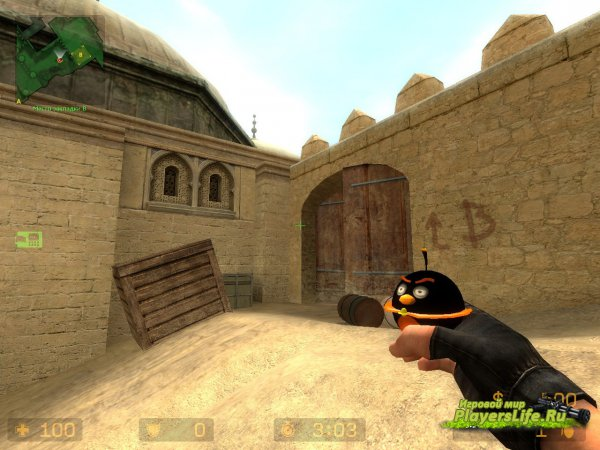 ������ ������ �� Angry Birds ��� Counter-Strike: Source
