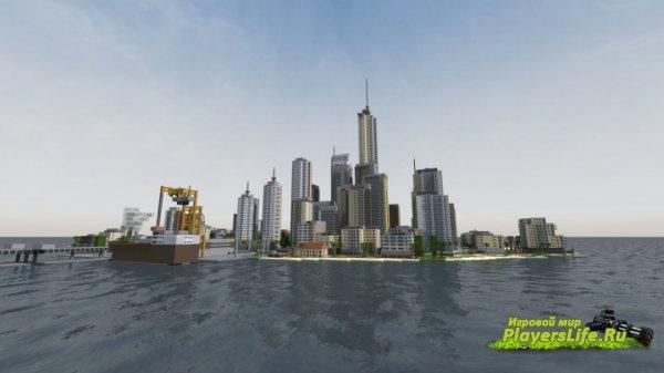 ������-��� Mini City [32x] ��� Minecraft 1.8.2