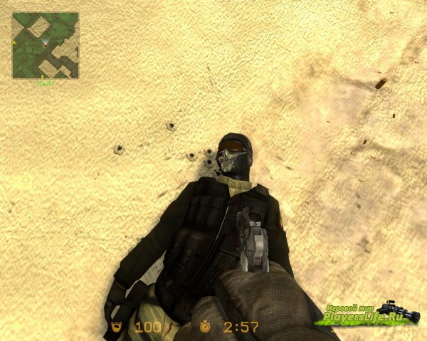 Гоуст (Призрак) GIGN из Modern Warfare 2 для Counter-Strike: Source