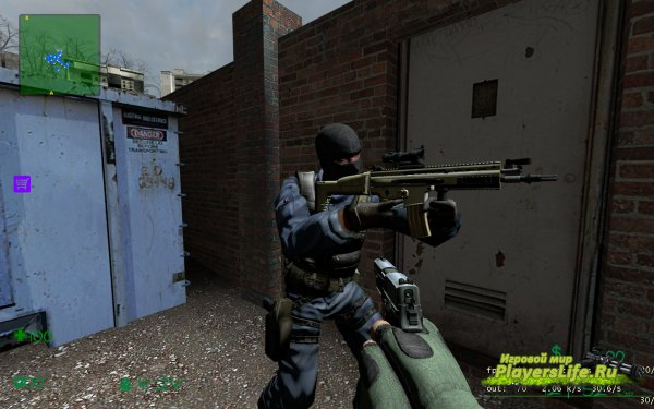 Counter-Strike 1.6 модель GIGN для CS:S