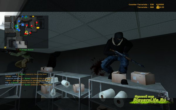 Скачать скин террориста Arctic для Counter-Strike: Source