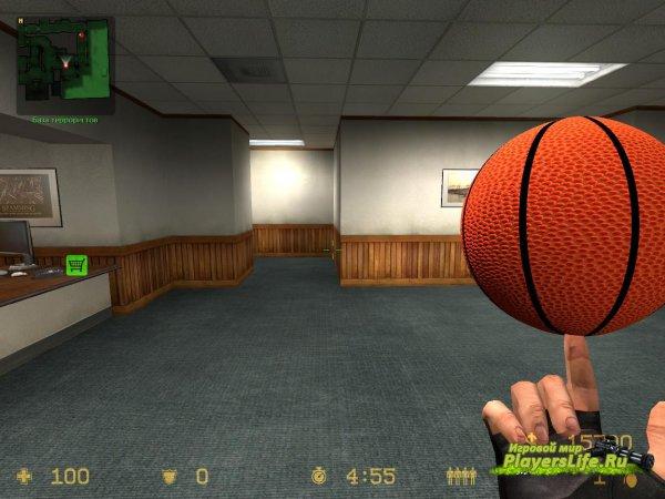 Баскетбольный мяч для CSS