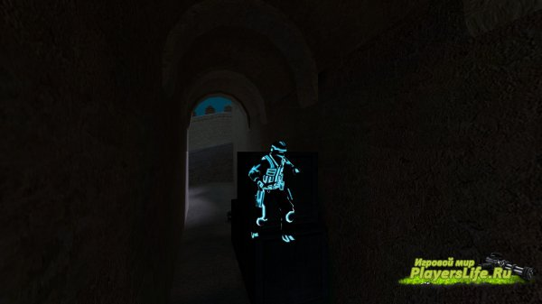 Скин персонажа из Трон: Наследие для CS:S