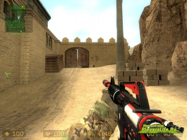 M4A1 ������� �� CS:GO ��� Counter-Strike: Source