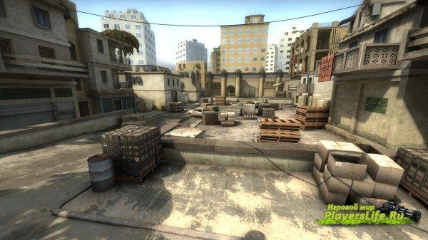 Карта aim_deagle_india для CS:GO