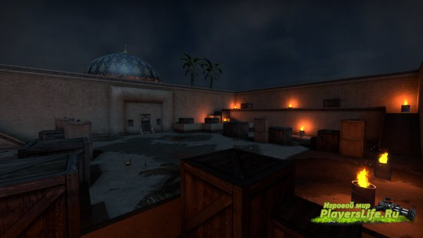 Карта aim_map_night для CS:GO