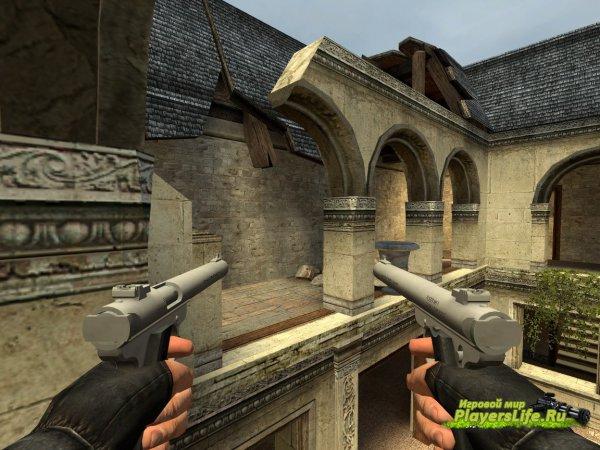 Двойные бесшумные пистолеты Ruger Mk.II Amphibian для CS:S