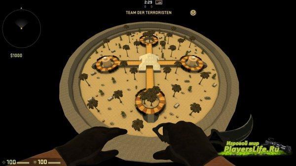 Карта awp_pyramid для CS:GO