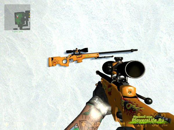 AWP | БАХ для Counter-Strike: Source