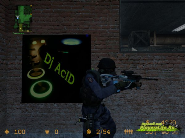 AUG FISHBOARD для Counter-Strike: Source