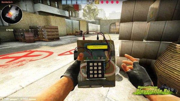 Бомба из CS:GO для CS:S