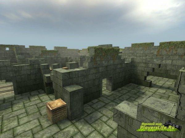 Карта aim_temple для CS:GO