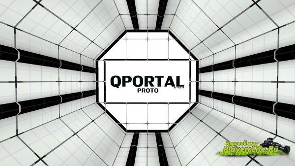 Карта bhop_qportal для CS:GO