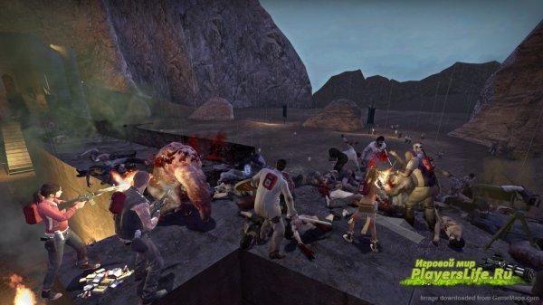 Left 4 Dead 2 — Карта на Выживание «Helm's Deep Reborn»