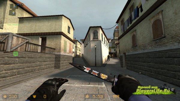 Штык Нож | Ультрафиолет для CS:S