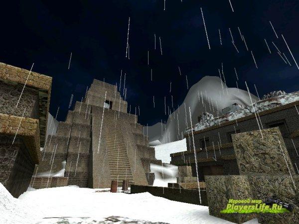 Зима на de_aztec (Counter-Strike: Source)