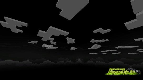 Ночное небо от Minecraft для Counter-Strike: Source
