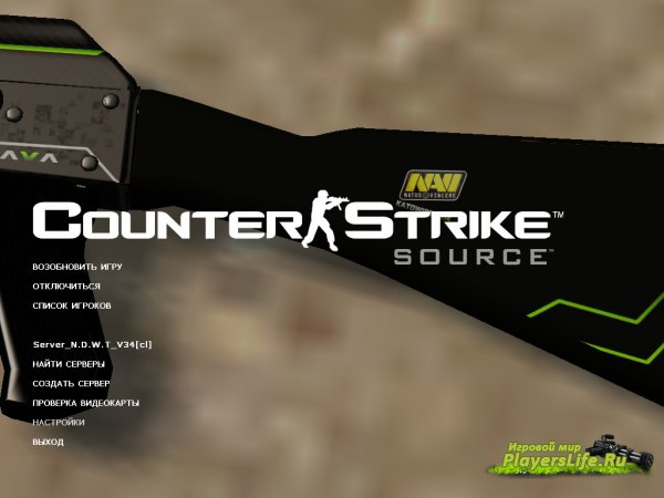 Ak47 Green Line ��� Counter-Strike: Source