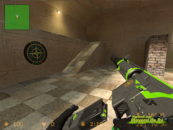 M4A4 Asiimov Luminescent Lime для CSS