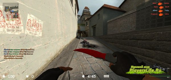 Falchion Knife для CSS Все версии