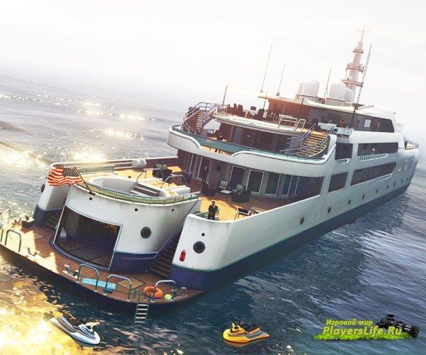 В GTA 5 добавят дорогую яхту-особняк