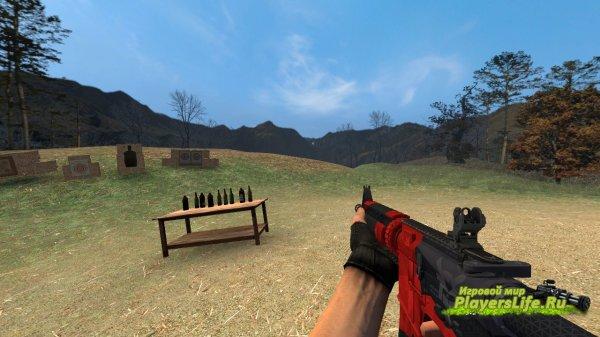 M4A4 Злобный дайме для Counter-Strike: Source