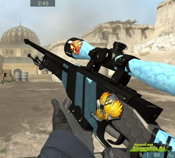 AWP Vulcan для Counter-Strike: Source