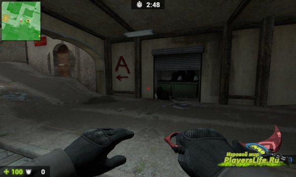Karambit | Slaughter для Counter-Strike: Source