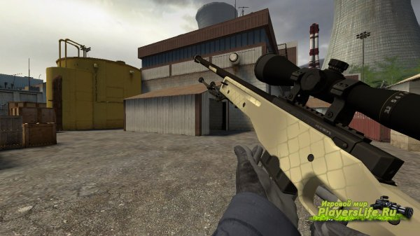 AWP Safari Mesh (Factory New) из CS:GO для CS:S