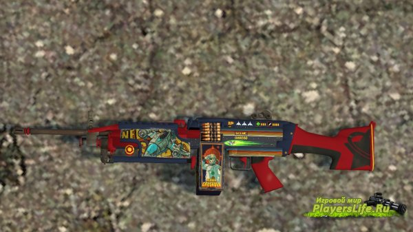 M249 Nebula Crusader для Counter-Strike: Source