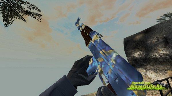 AK47 Поверхностная закалка для CS:S из CS:GO