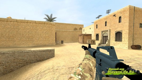 M4A1-s Guardian для CS:S из CS:GO