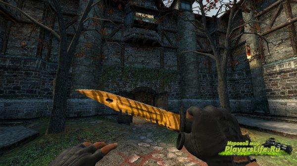 Штык нож М9 - Зуб Тигра для CS:S из CS:GO
