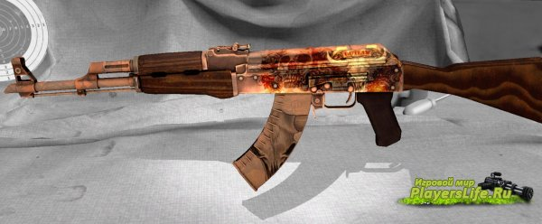 AK-47 Outlaw из CS:GO для CS:S