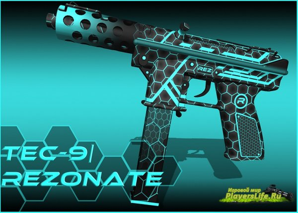 Tec 9 Rezonate из CS:GO для CS:S