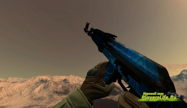 AK47 Blizzard для Counter-Strike: Source