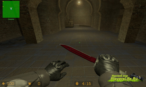 Bayonet | DOPPLER RUBY из CS:GO для CS:S